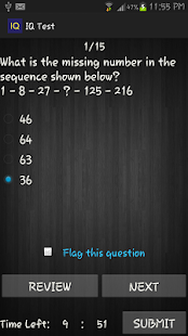 IQ Test - Know Your IQ - screenshot thumbnail