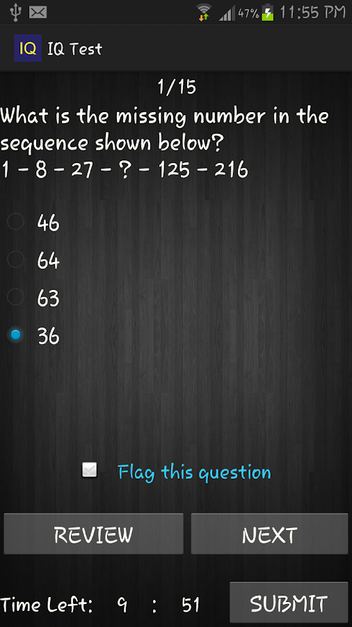 IQ Test - Know Your IQ - screenshot