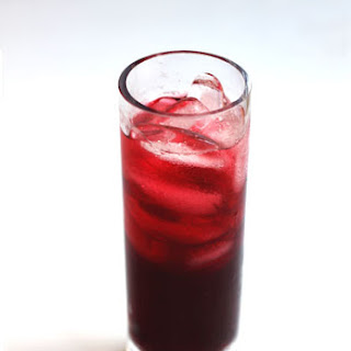 Iced Ginger Hibiscus Tea