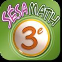 Manuel Sésamath 3e logo