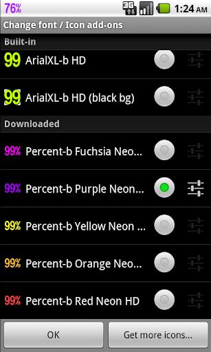 玩程式庫與試用程式App|BN Pro Percent-b Neon HD Text免費|APP試玩