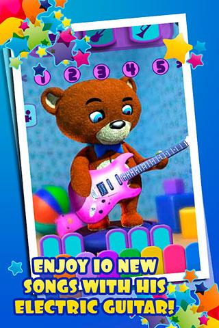 Screenshots of Talking Teddy Bear Free for iPhone
