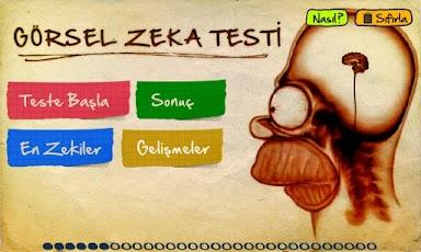 Android Zeka Testi Resimler
