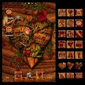 ADW Theme Wooden Valentine icon