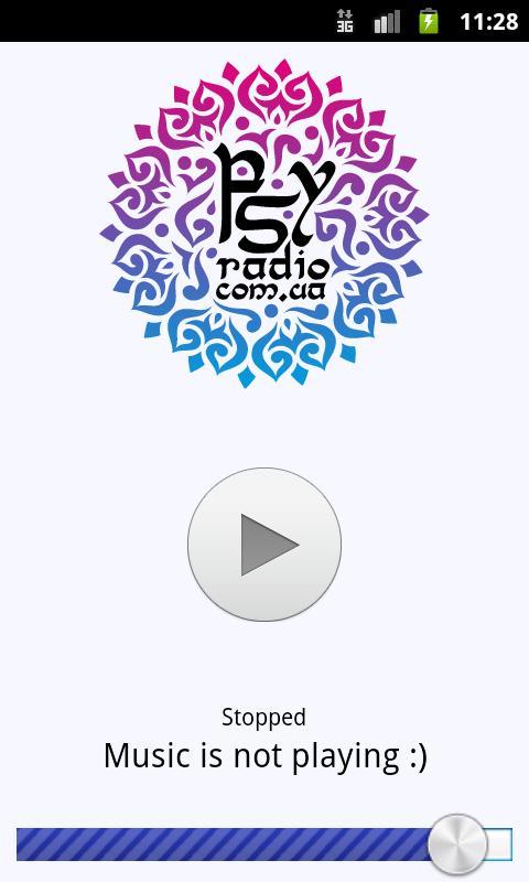 PsyRadio- screenshot
