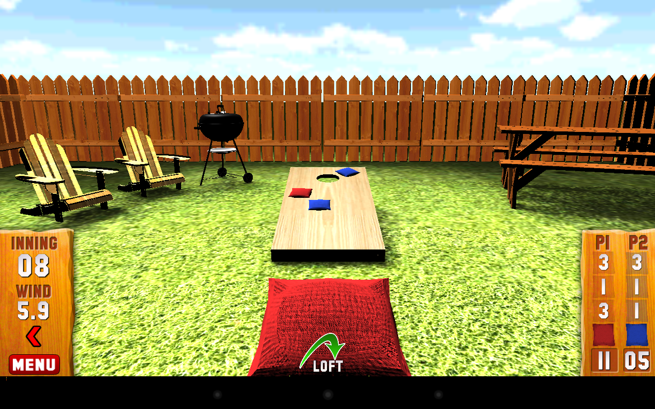 Cornhole Ultimate: 3D Bag Toss- screenshot