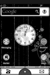 Black & White Theme - screenshot thumbnail