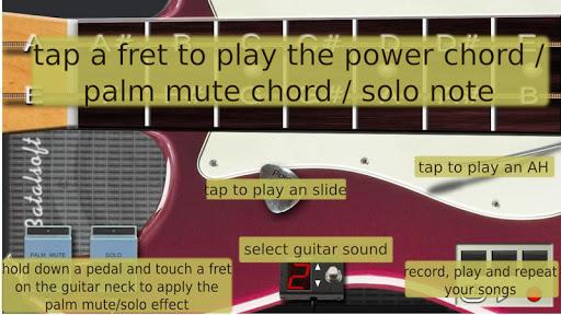 玩音樂App|电吉他 (Power Guitar HD)免費|APP試玩