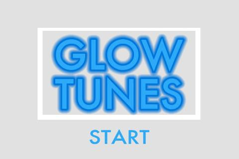 GlowTunes- screenshot