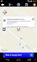 Screenshot of Nearest Toilet/ Nearby Alert