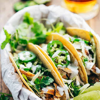 20-Minute Ancho Chicken Tacos.