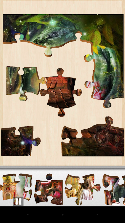 Free Fairytale Jigsaw Puzzles- screenshot