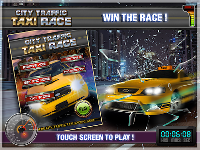 City Traffic Taxi Race