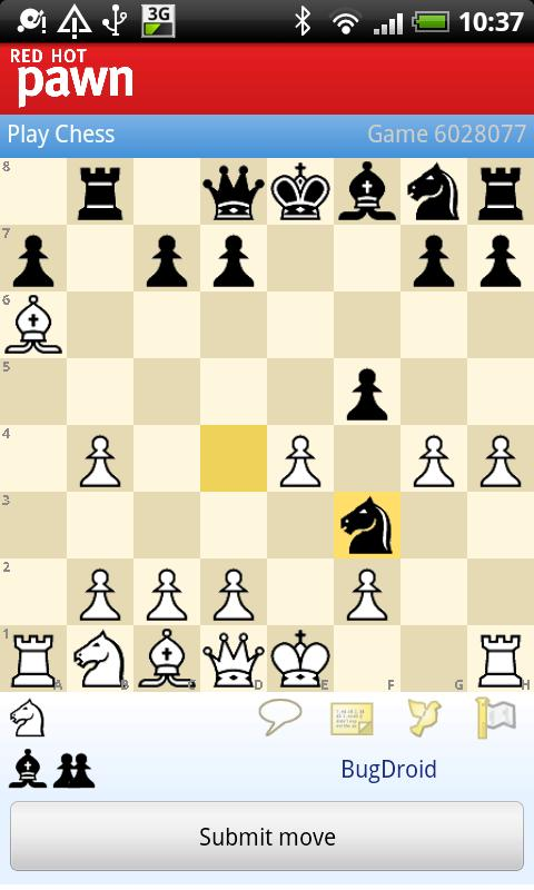 RedHotPawn Chess Client - screenshot