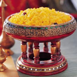Saffron Basmati Pilaf (Kesar Bhat)