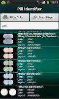 Screenshot of Pill Identifier by Health5C