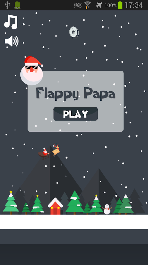 Flappy Papa – Merry Christmas- screenshot