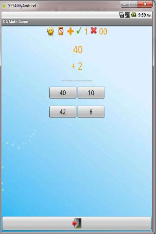 Da Math Game - screenshot