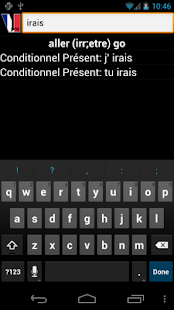 French Verbs- screenshot thumbnail
