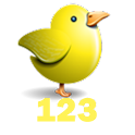 Baby's Number School(bird)NoAD logo