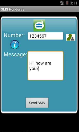 Free SMS Honduras