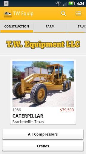 T.W. Equipment LLC