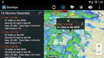 Screenshot of StormEye - Storm Tracking
