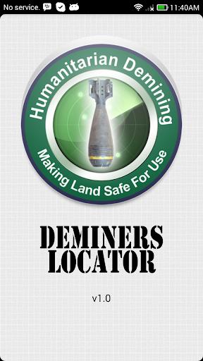 Deminers Locator
