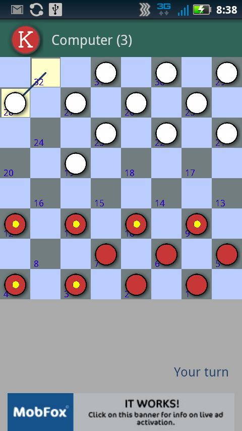 Checkers Time - Online- screenshot