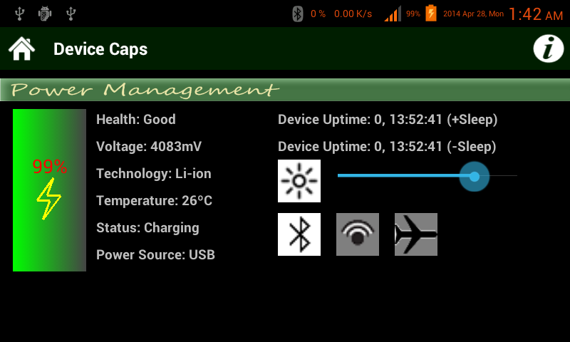 Device Caps Utility - screenshot