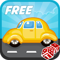 Car Traffic Lane Control Free icon