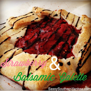 Strawberry & Balsamic Galette.