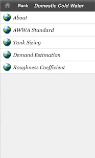 Plumbing Systems Design Tables- screenshot thumbnail