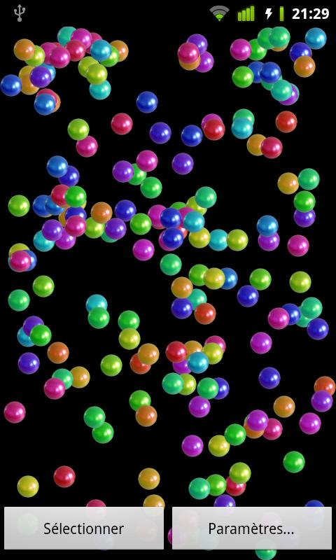 Bouncing Balls Live Wallpaper - screenshot