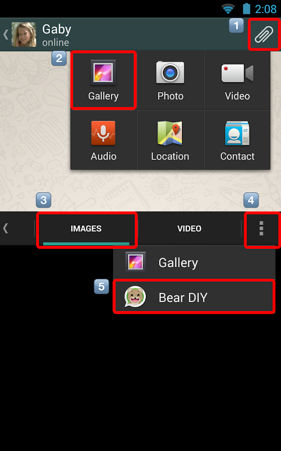Bear DIY for Chat- screenshot