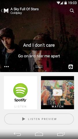 android Musixmatch Songtexte Screenshot 20