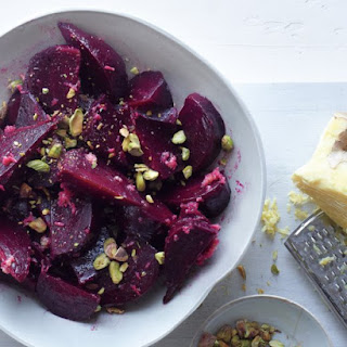 Beet Salad with Ginger Dressing.
