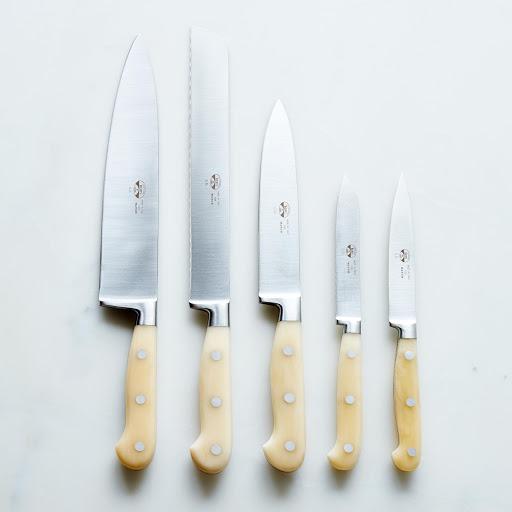 white handled italian kitchen knives on food52
