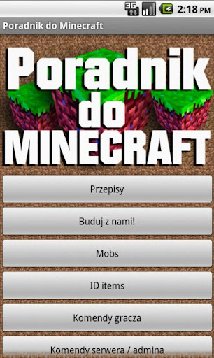 Poradnik do Minecraft'a