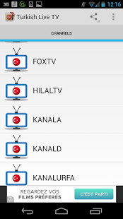 Turkey TV Live Free HD - screenshot thumbnail