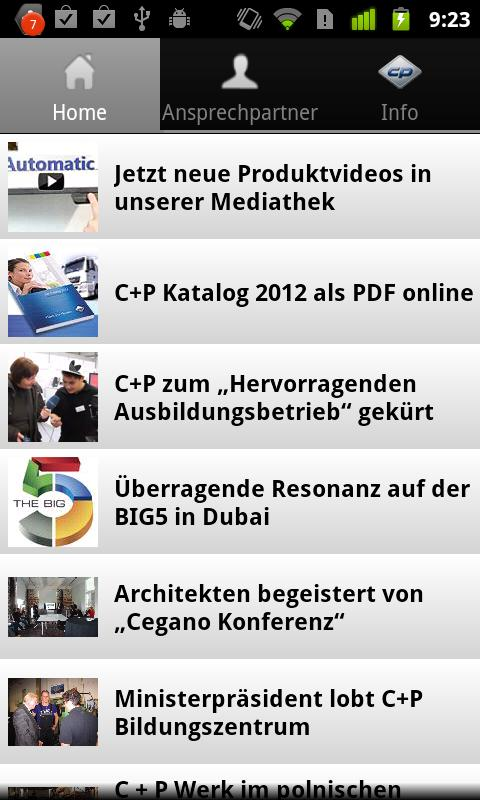 C+P Möbel - screenshot