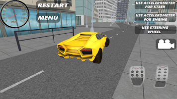 Screenshot of Sport Car Simulator HD