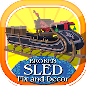 Broken Sled Fix and Decor