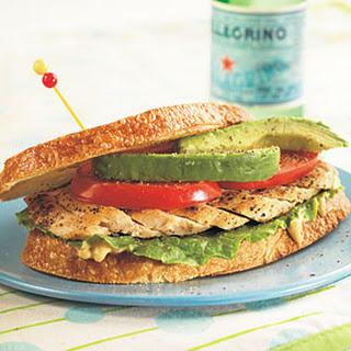 California Chicken Sandwich.