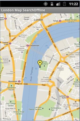 【免費旅遊App】London Map Search Offline-APP點子