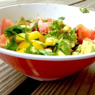 Easy Avocado Salad [Vegan, Raw, Gluten-Free]