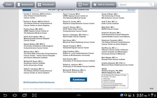 玩免費醫療APP|下載NCCN Guidelines® app不用錢|硬是要APP