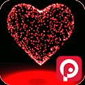 3D Valentine Heart Magic Live icon