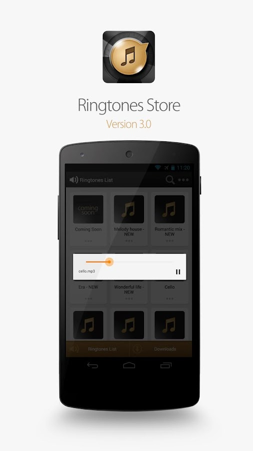 Ringtones Store - screenshot