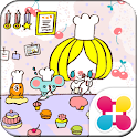 Characters Theme-Sweets Café- icon